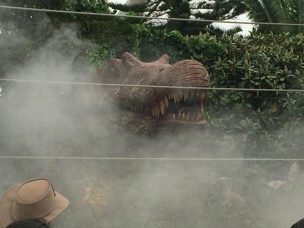 USJダイナソーパニックの恐竜