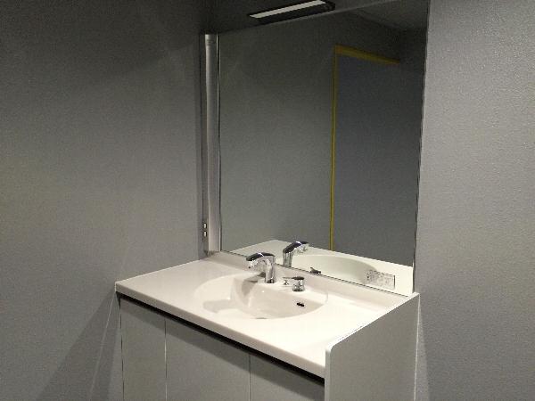 ザ・フライング・ダイナソーのチャイルドスイッチの手洗い場