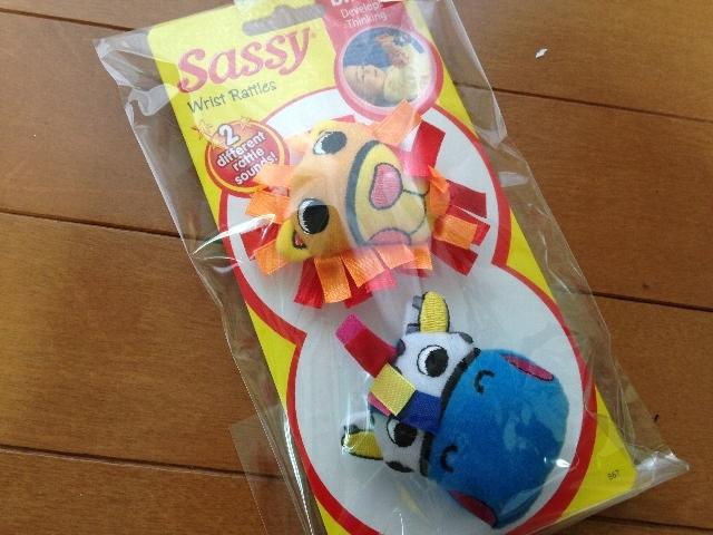 Sassy リストラトル ライオンとゼブラのパッケージ