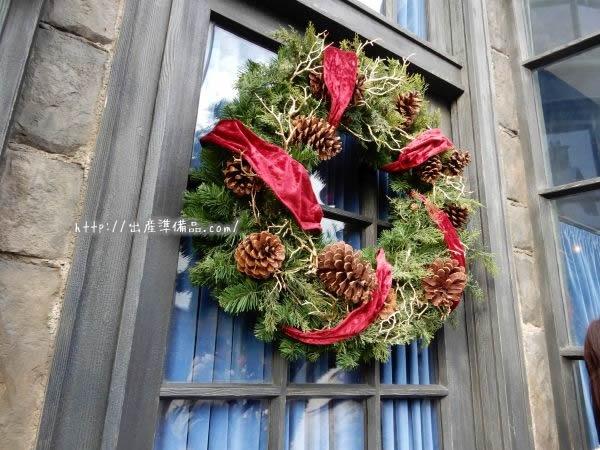 USJのハリーポッターのクリスマス