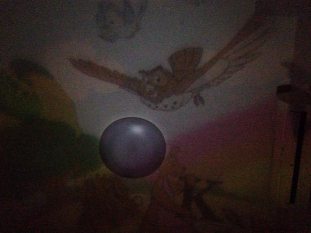 天井いっぱい!おやすみホームシアターのディズニーディスク