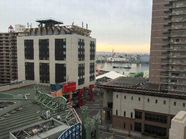ホテル京阪ユニバーサル・シティの眺望