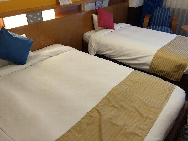 ホテル京阪ユニバーサル・シティのツインルーム
