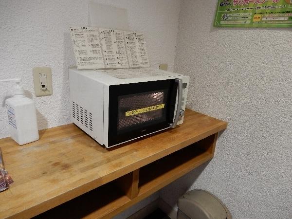 ホテル・ロッジ舞洲の電子レンジ