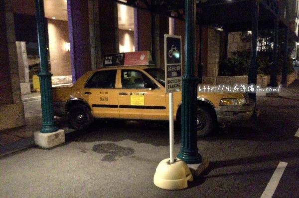 ユニバーサルポートホテルのタクシー