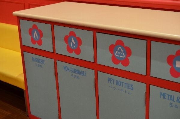 授乳室のゴミ箱