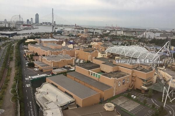 ホテル京阪ユニバーサル・タワーからの眺め