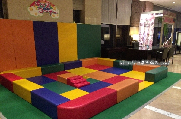 ホテル京阪ユニバーサル・タワーのキッズコーナー