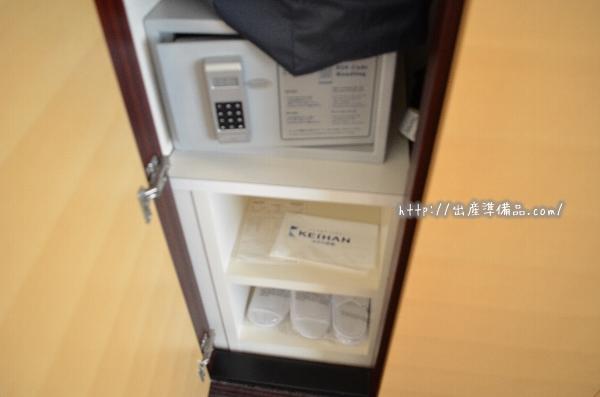 ホテル京阪ユニバーサル・タワーのスタンダードツインのクローゼット