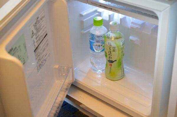 ホテル近鉄ユニバーサル・シティのカジュアルツインルームの冷蔵庫