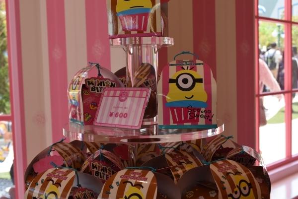 ミニオンズカップケーキ