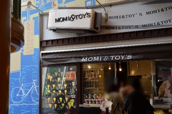 MOMi&TOYSクレープ店