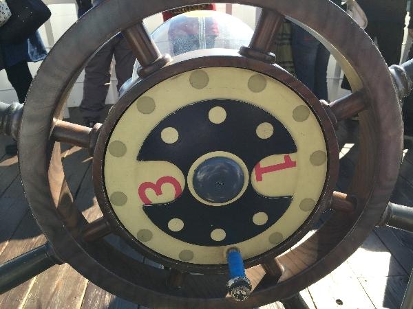 サウザンド・サニー号の舵