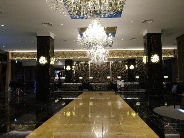 パークフロントホテルのエントランス