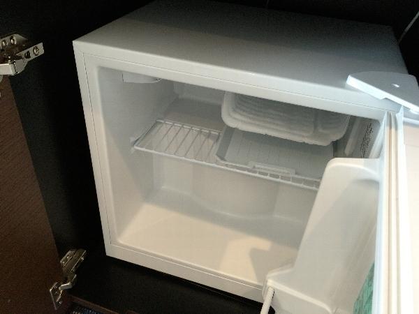パークフロントホテルの冷蔵庫
