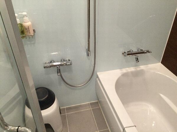 パークフロントホテルのお風呂のアメニティ