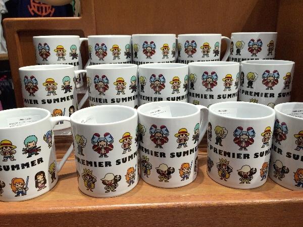 ワンピースのマグカップ