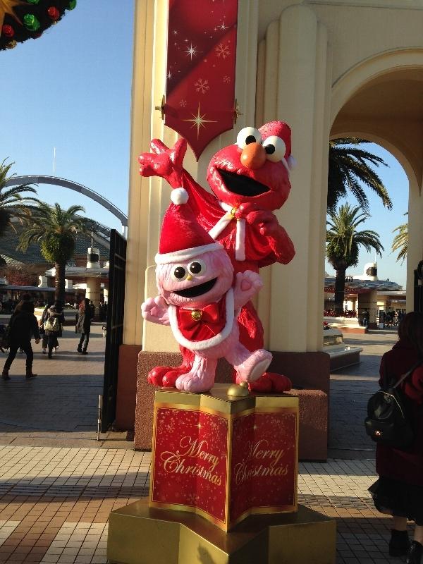 USJのクリスマス:エルモ