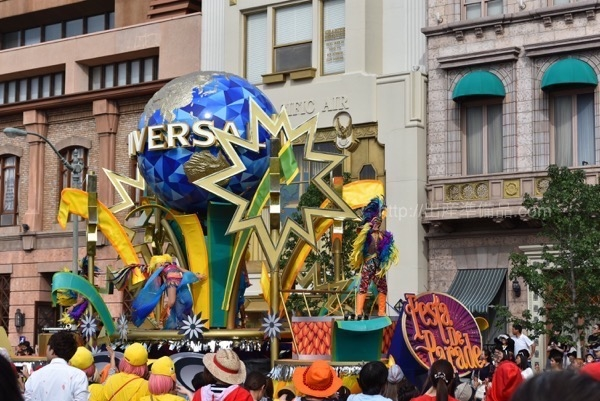 2017年USJフェスタ・デ・パレード