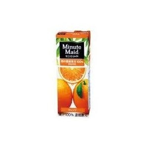 ミニッツメイド オレンジジュース