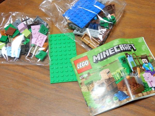 レゴ(LEGO) マインクラフト スイカ畑 21138